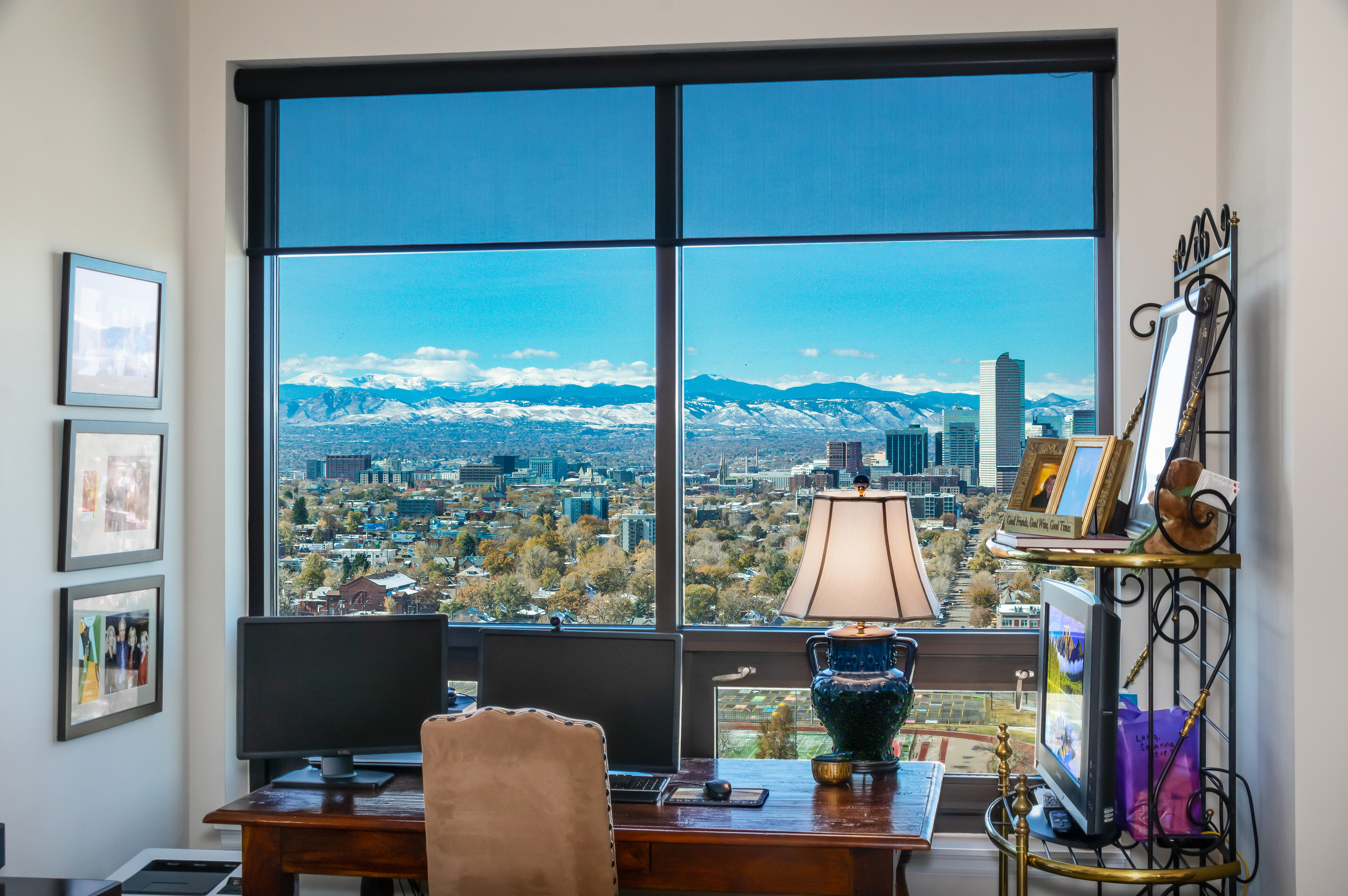 Denver Real Estate | View 2990 E 17th Avenue #2407 | 2990 E 17th Ave 2407 Denver CO-print-035-082-View from Office-4200x2793-300dpi