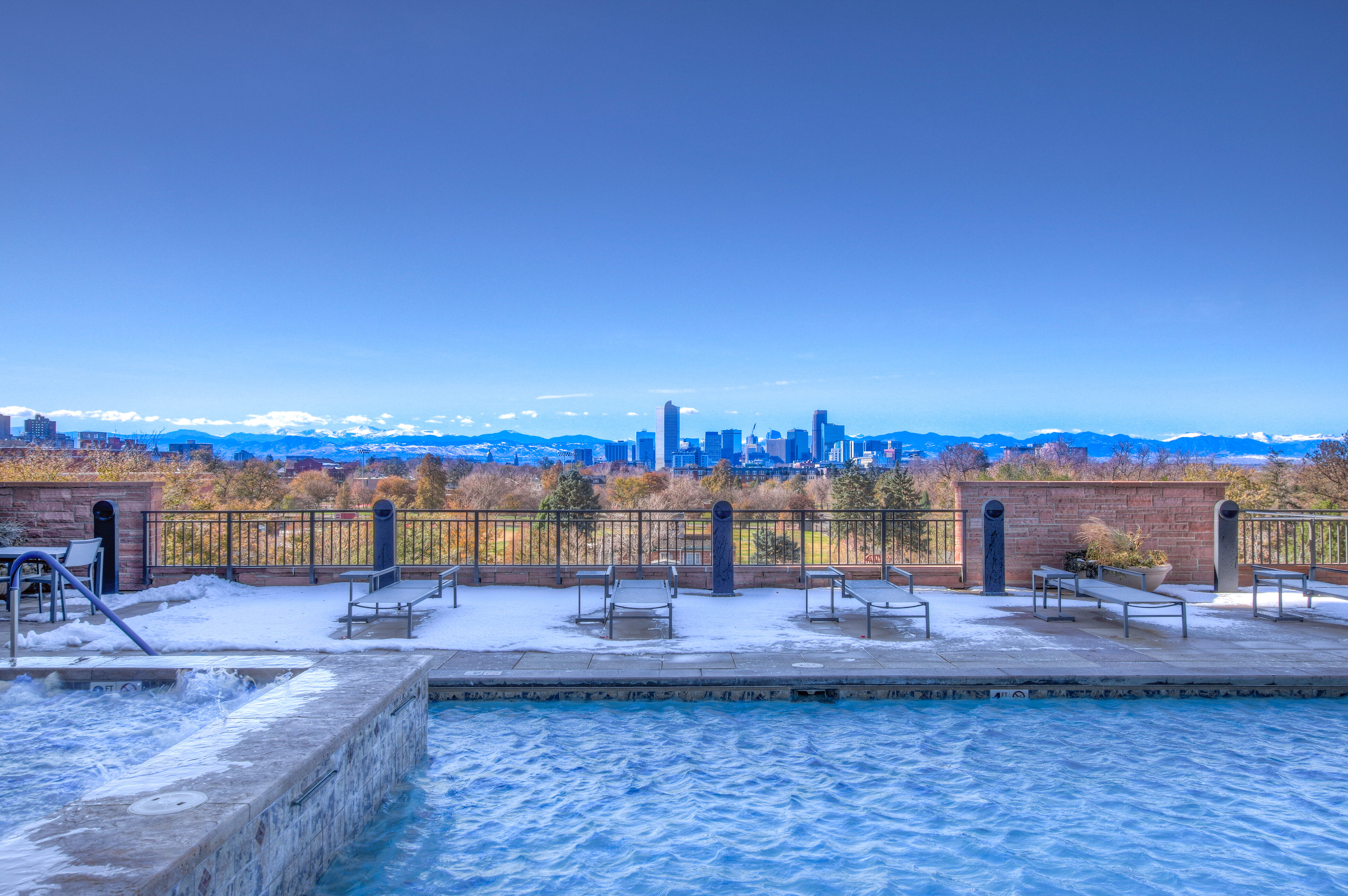 Denver Real Estate | View 2990 E 17th Avenue #2407 | 2990 E 17th Ave 2407 Denver CO-print-072-020-Private Swimming Pool  Lounge-4200x2793-300dpi