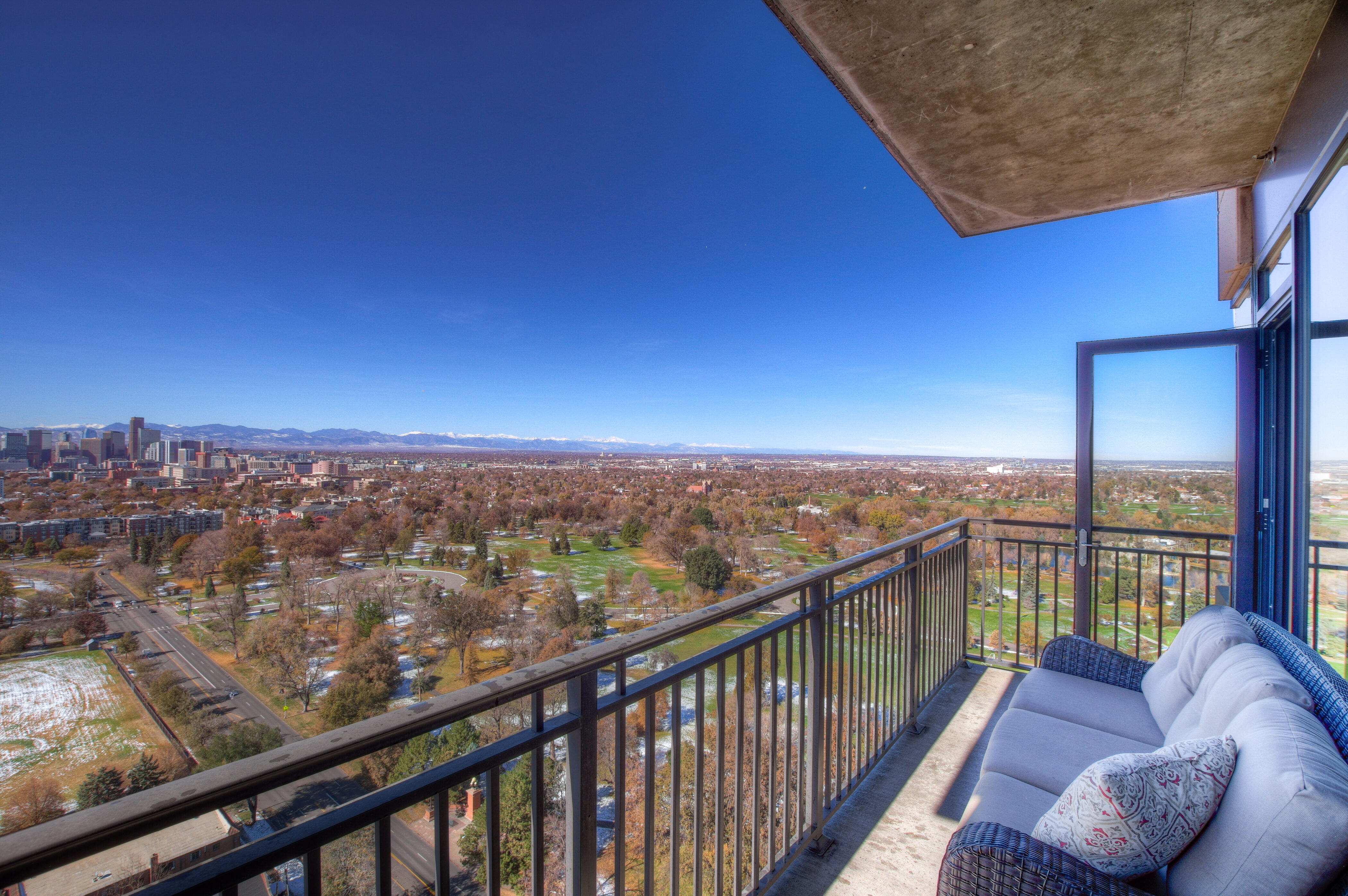Denver Real Estate | View 2990 E 17th Avenue #2407 | 2990 E 17th Ave 2407 Denver CO-print-042-022-Balcony-4200x2793-300dpi
