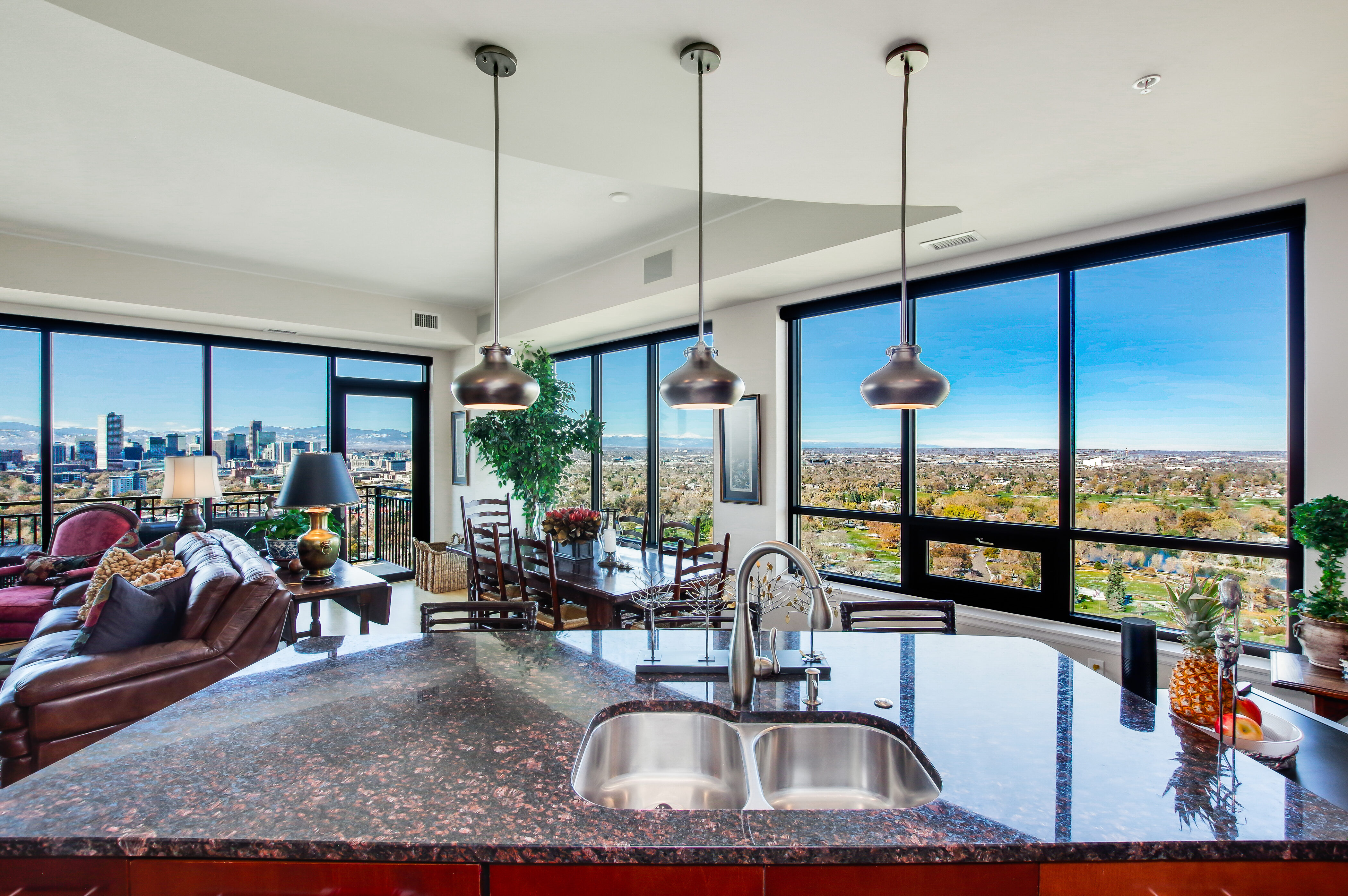 Denver Real Estate | View 2990 E 17th Avenue #2407 | 2990 E 17th Ave 2407 Denver CO-print-025-054-Breakfast BarLayout-4200x2793-300dpi