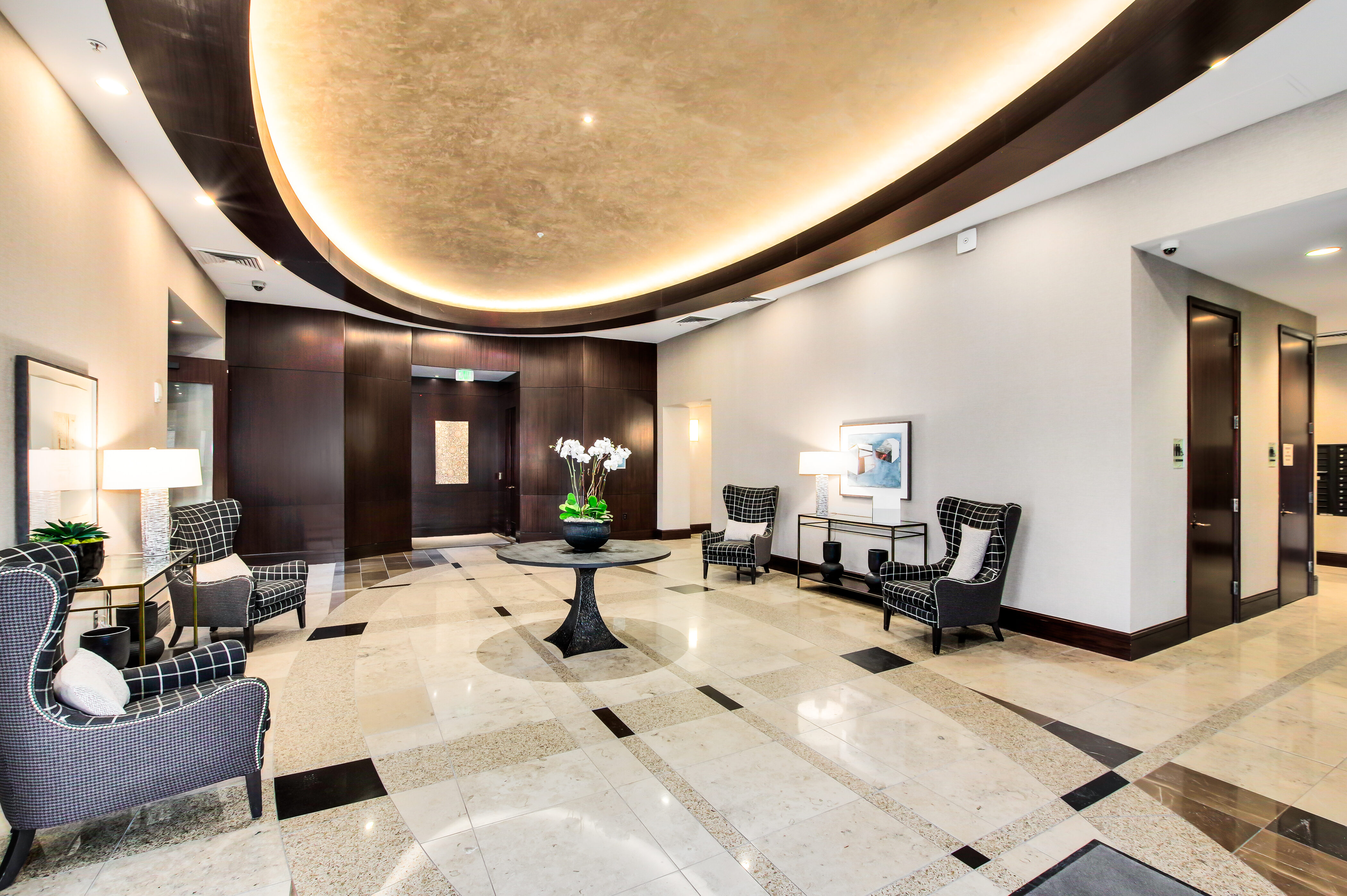 Denver Real Estate | View 2990 E 17th Avenue #2407 | 2990 E 17th Ave 2407 Denver CO-print-068-072-Lobby  Lounge Area-4200x2793-300dpi