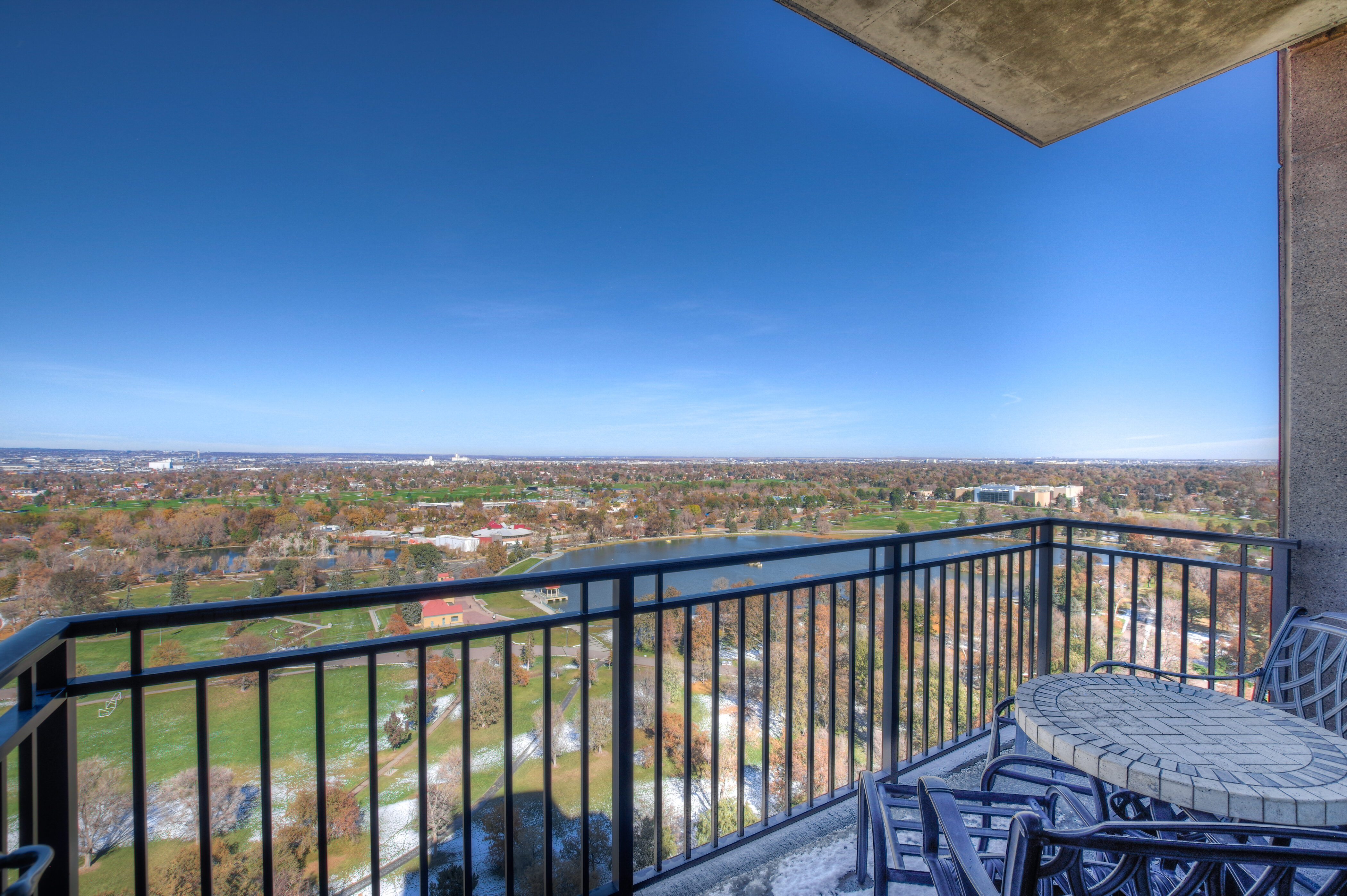 Denver Real Estate | View 2990 E 17th Avenue #2407 | 2990 E 17th Ave 2407 Denver CO-print-045-014-2nd Balcony-4200x2793-300dpi