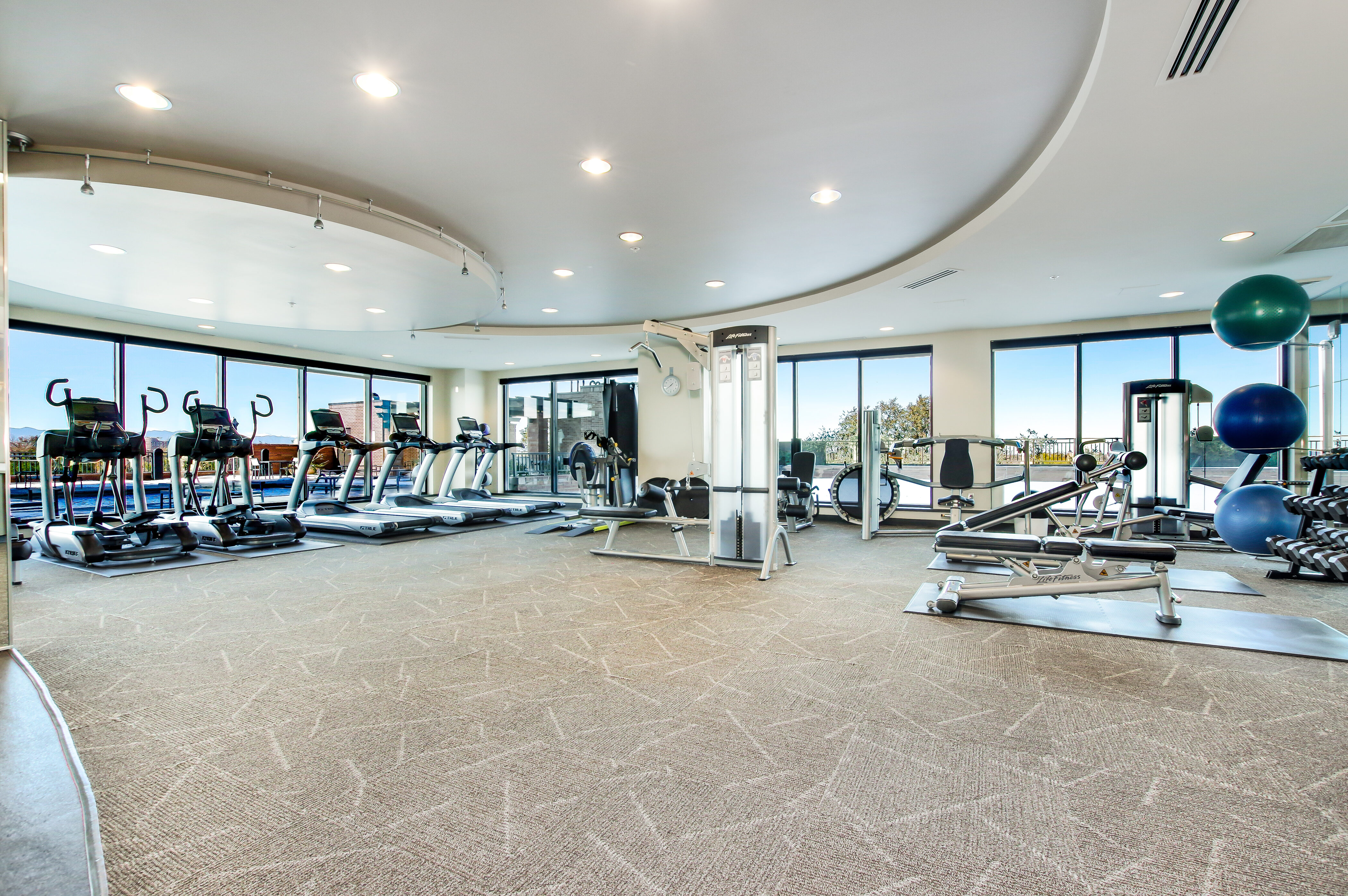 Denver Real Estate | View 2990 E 17th Avenue #2407 | 2990 E 17th Ave 2407 Denver CO-print-059-071-Workout Room-4200x2793-300dpi
