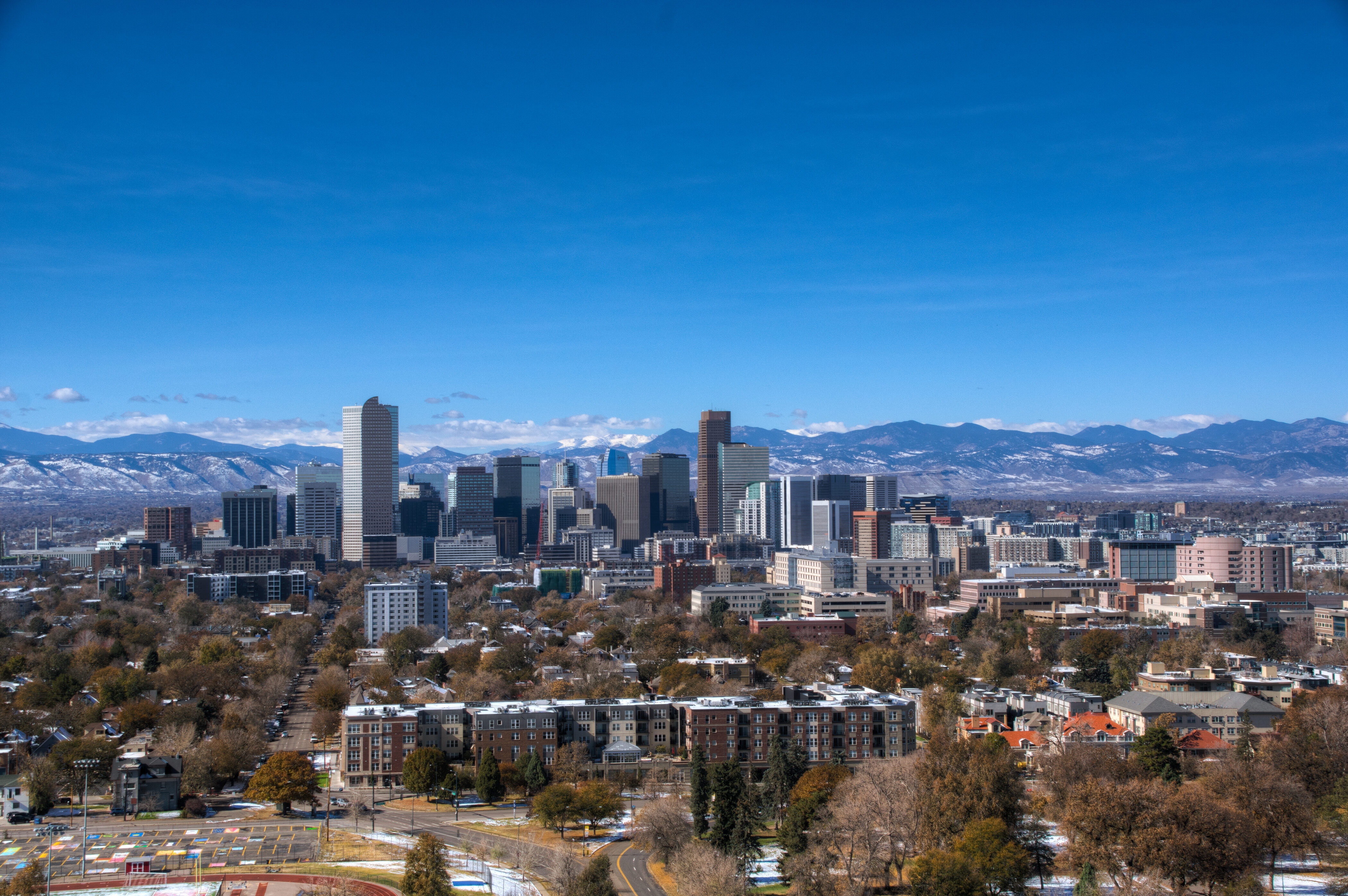 Denver Real Estate | View 2990 E 17th Avenue #2407 | 2990 E 17th Ave 2407 Denver CO-print-043-009-View from Unit-4200x2793-300dpi