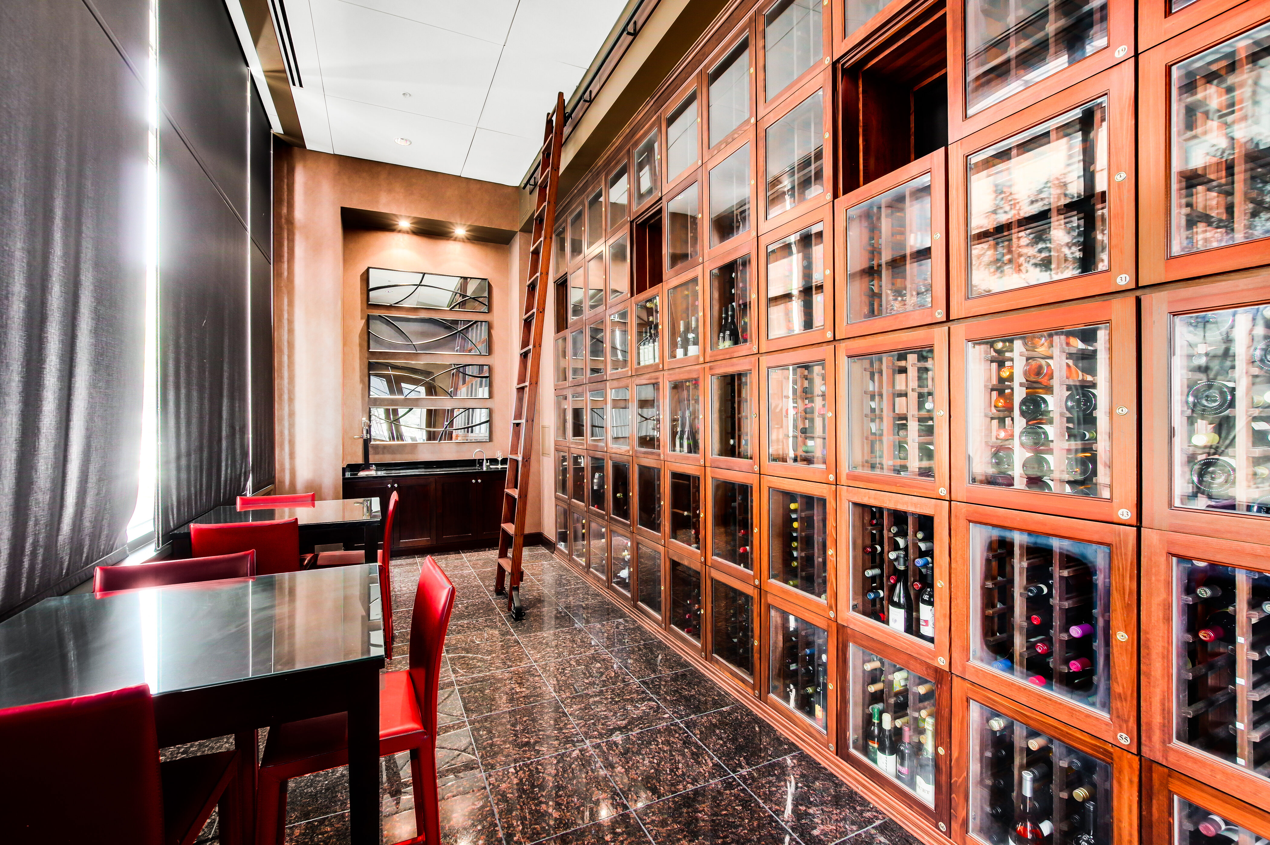 Denver Real Estate | View 2990 E 17th Avenue #2407 | 2990 E 17th Ave 2407 Denver CO-print-064-066-Wine Tasking Room  Wine Cellar-4200x2793-300dpi