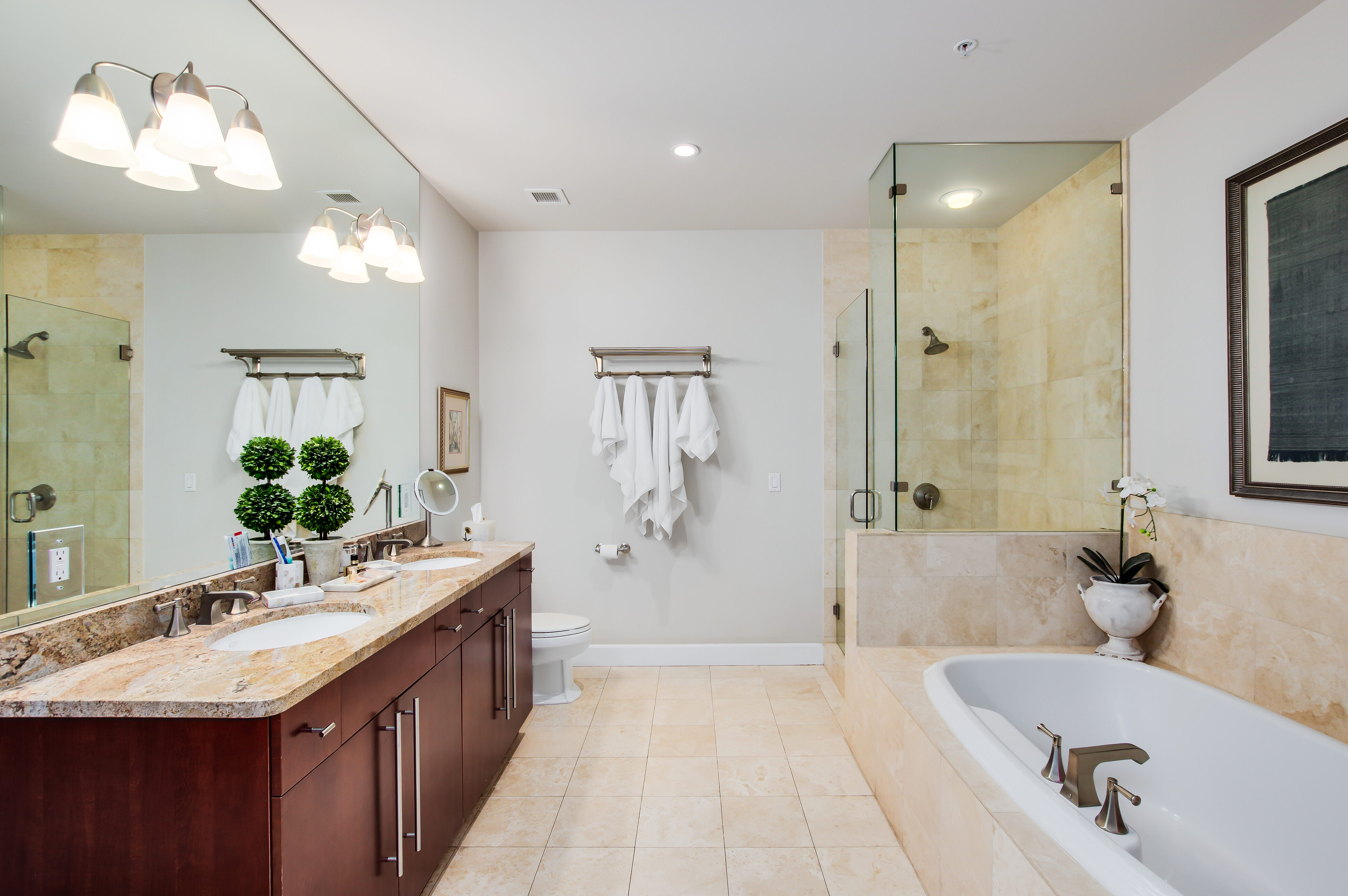 Denver Real Estate | View 2990 E 17th Avenue #2407 | 2990 E 17th Ave 2407 Denver CO-print-031-049-Master Bath-4200x2793-300dpi