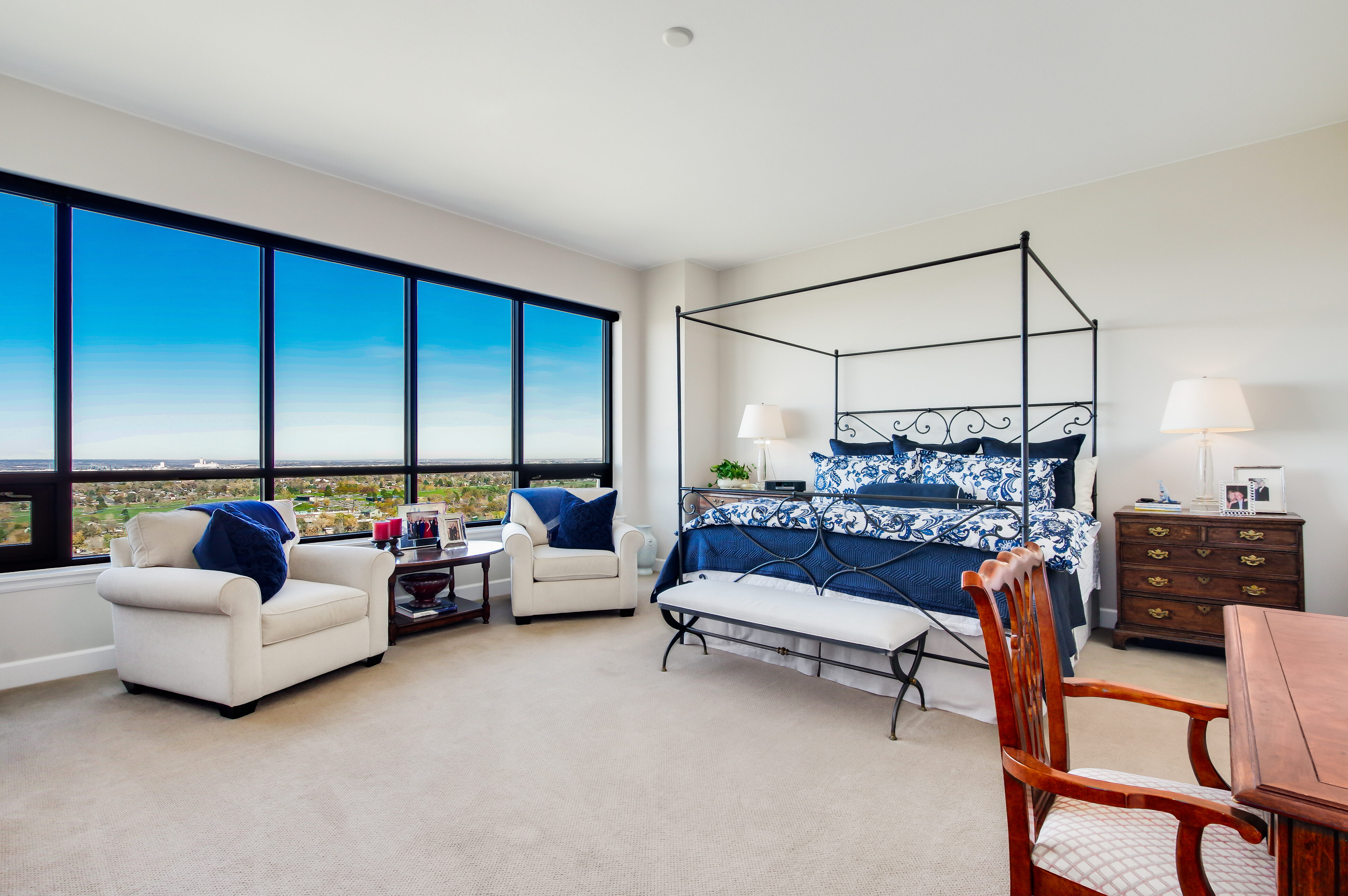 Denver Real Estate | View 2990 E 17th Avenue #2407 | 2990 E 17th Ave 2407 Denver CO-print-027-063-Master Bedroom-4200x2793-300dpi